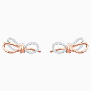lifelong-bow-pierced-earrings--white--mixed-metal-finish-swarovski-5447089 (2)