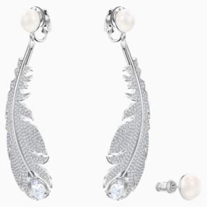 nice-clip-earrings--white--rhodium-plated-swarovski-5497866 (1)