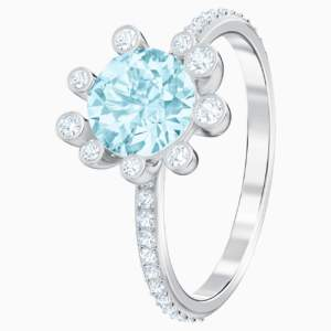 olive-ring--aqua--rhodium-plated-swarovski-5482502 (1)