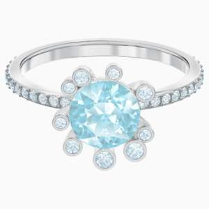 olive-ring--aqua--rhodium-plated-swarovski-5482502