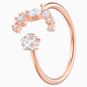 penélope-cruz-moonsun-open-ring--white--rose-gold-tone-plated-swarovski-5486350 (1)