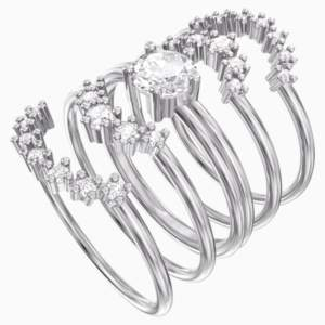 penélope-cruz-moonsun-ring-set--white--rhodium-plated-swarovski-5508874 (1)
