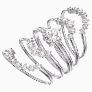 penélope-cruz-moonsun-ring-set--white--rhodium-plated-swarovski-5508874 (2)