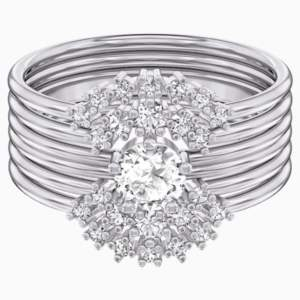 penélope-cruz-moonsun-ring-set--white--rhodium-plated-swarovski-5508874