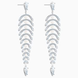 polar-bestiary-chandelier-pierced-earrings--white--rhodium-plated-swarovski-5489887 (3)