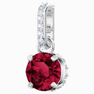 swarovski-remix-collection-charm--july--dark-red--rhodium-plated-swarovski-5437318
