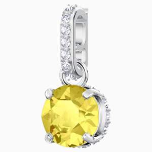 swarovski-remix-collection-charm--november--yellow--rhodium-plated-swarovski-5437326