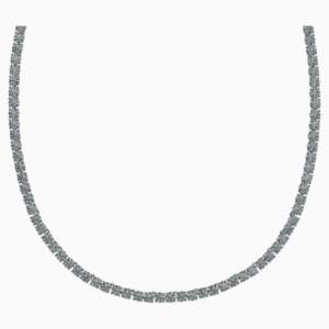 tennis-deluxe-necklace--black--ruthenium-plated-swarovski-5517113 (2)